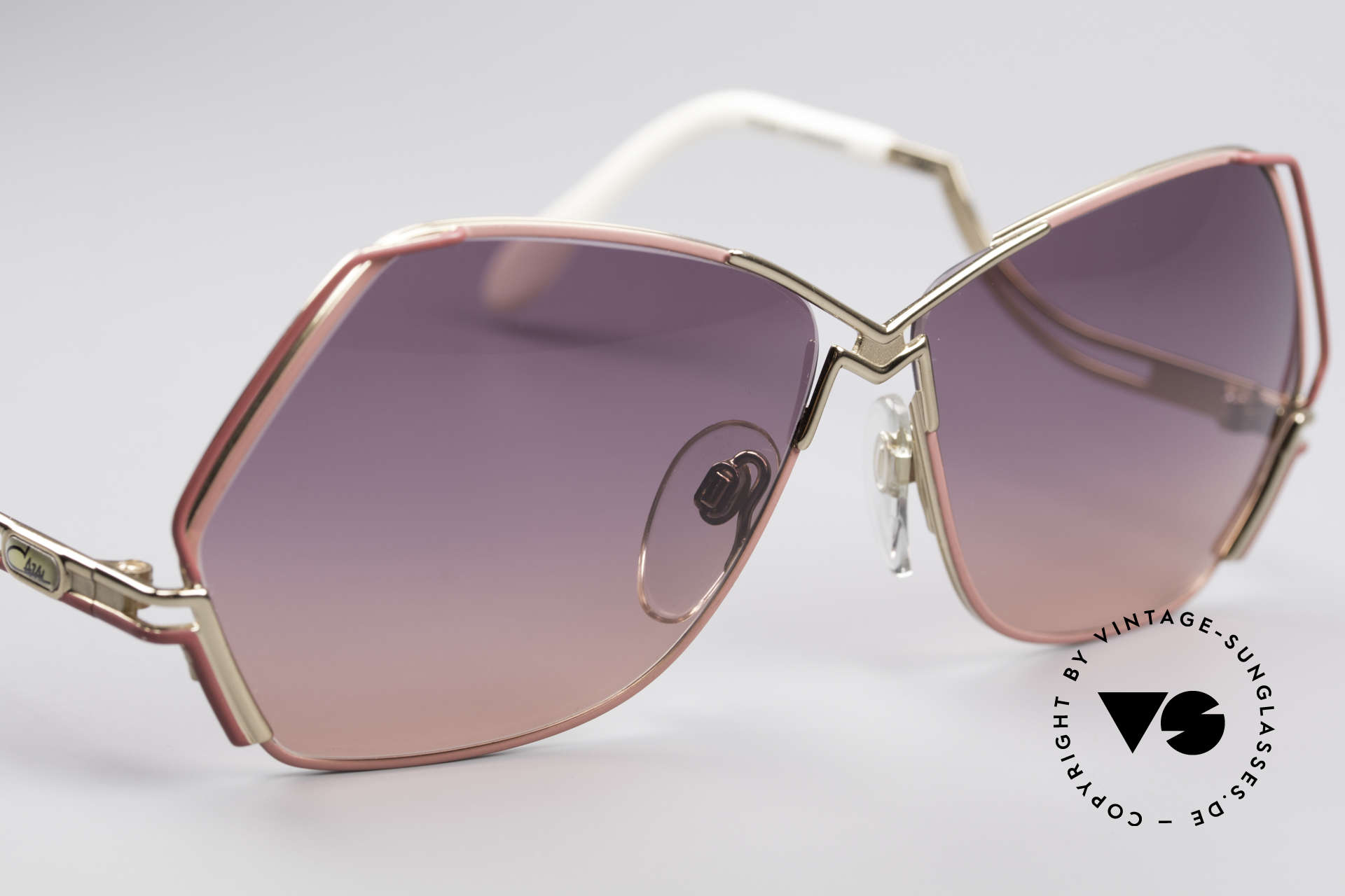 Cazal 226 Vintage Ladies Sunglasses, new old stock, NOS (like all our rare old Cazal eyewear), Made for Women