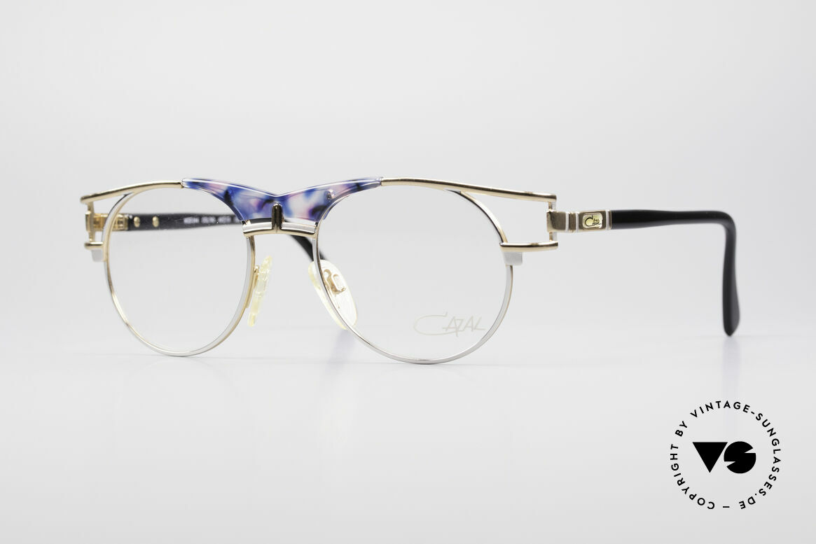 Cazal 244 Iconic Vintage Eyeglasses, elegant Cazal designer glasses of the early 90's, Made for Men and Women