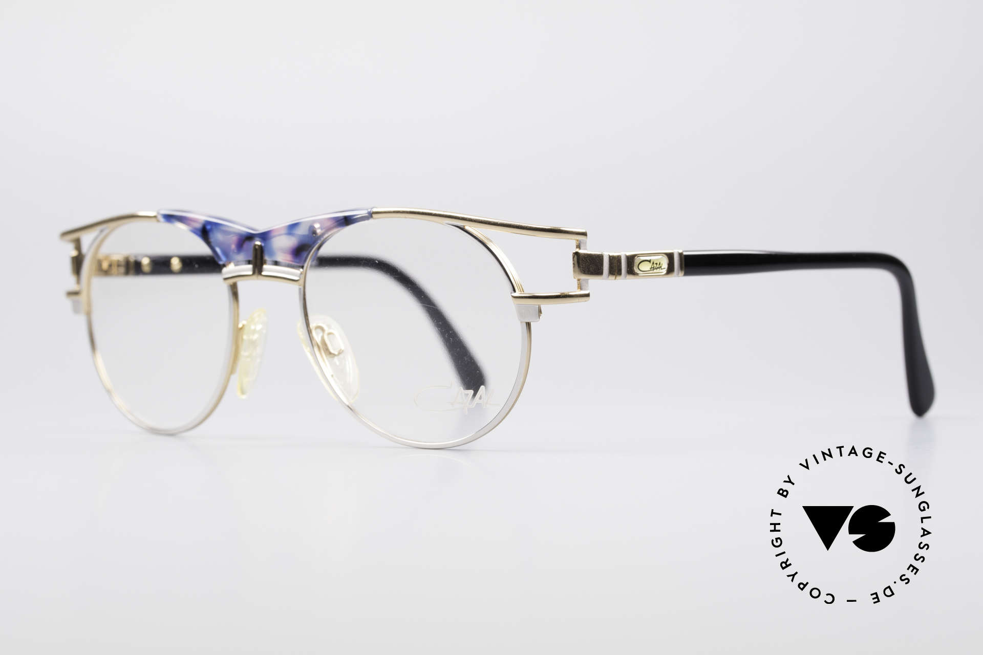 Cazal 244 Iconic Vintage Eyeglasses, fantastic combination of colours and materials, Made for Men and Women