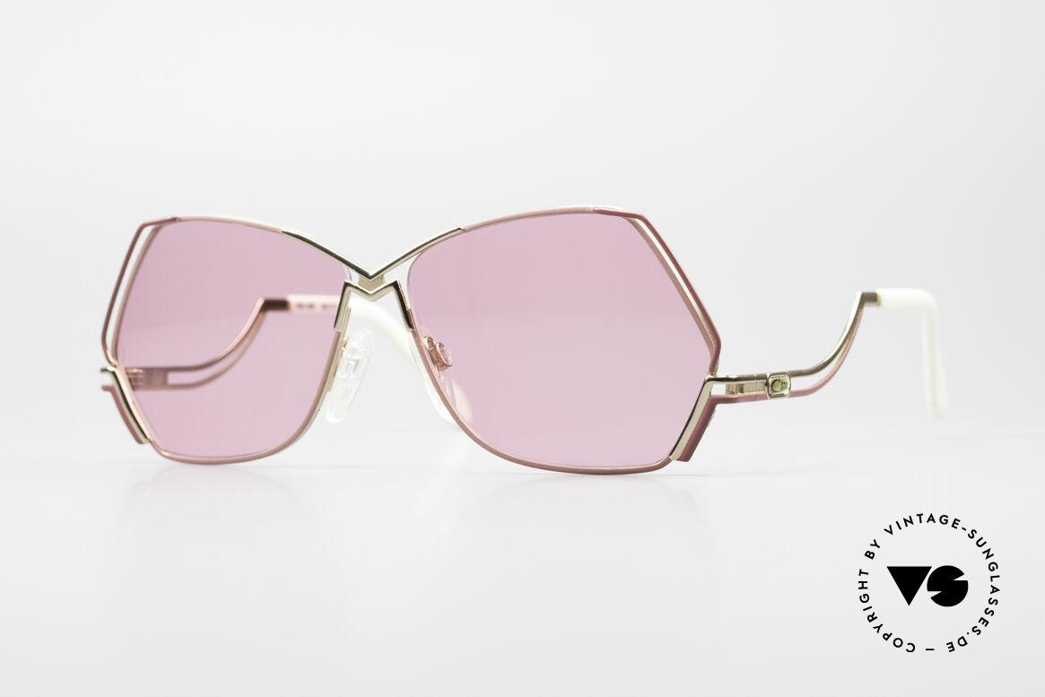 Cazal 226 Pink Vintage Ladies Sunglasses