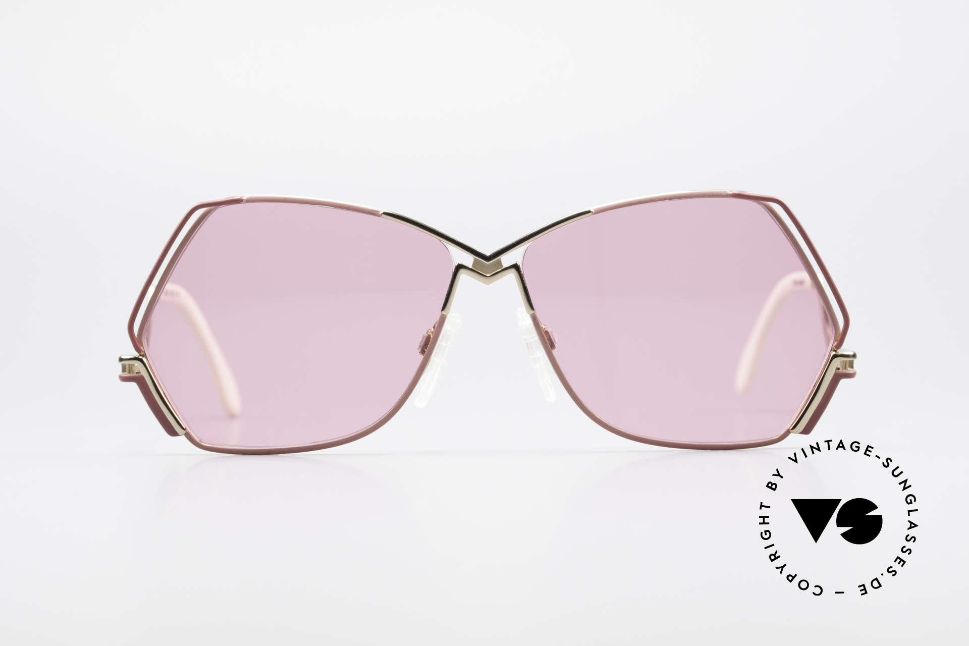 Cazal 226 Pink Vintage Ladies Sunglasses, enchanting creation by Mr. CAri ZALloni (Mr. CAZAL), Made for Women