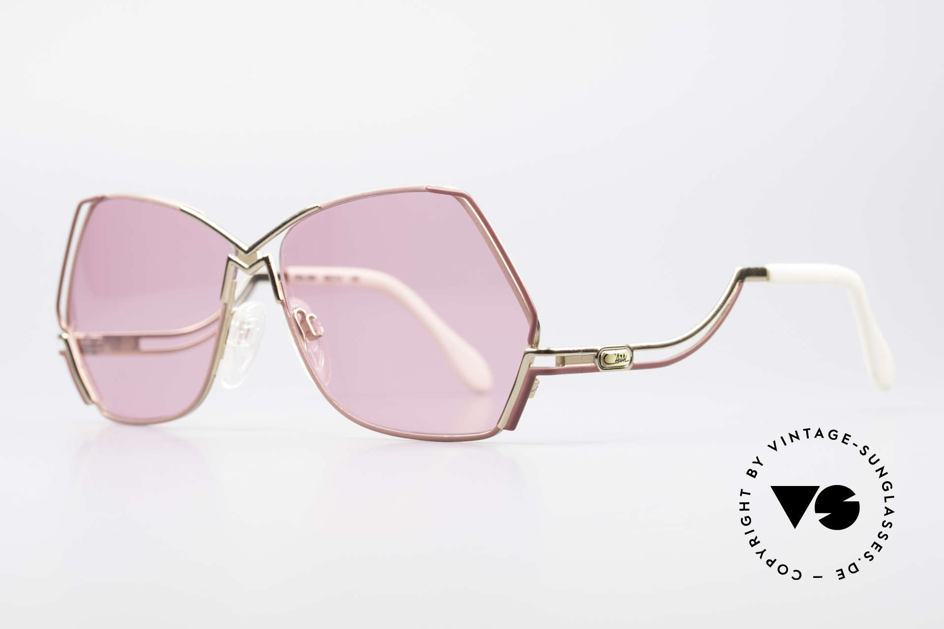 Cazal 226 Pink Vintage Ladies Sunglasses, a true eye-catcher; just beautiful and simply unique, Made for Women