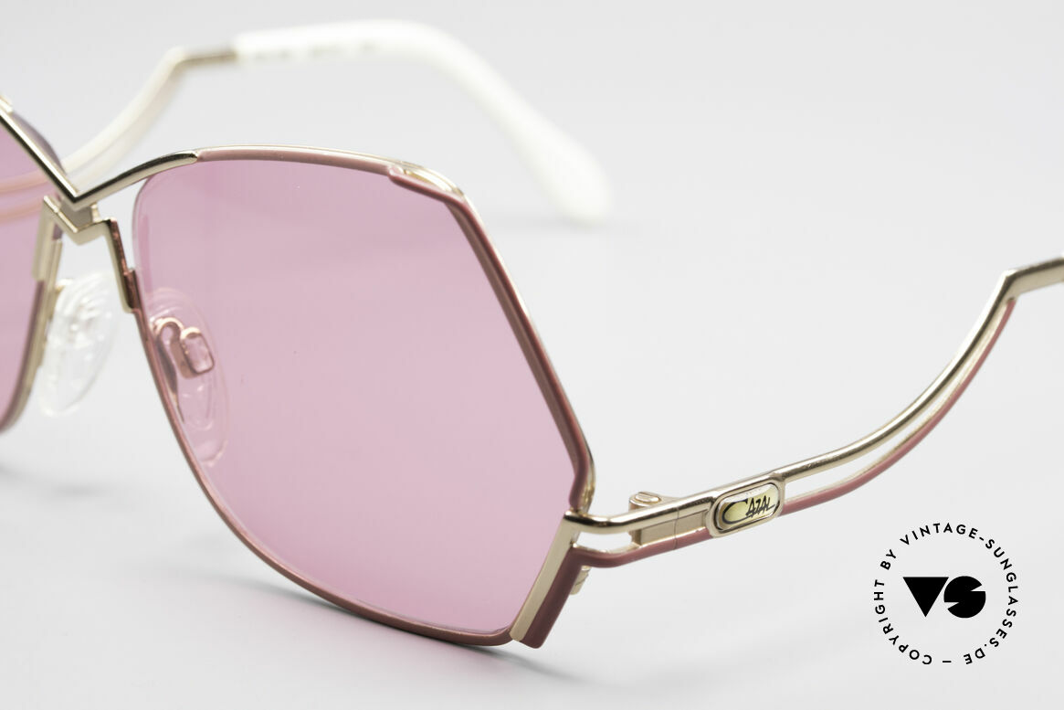 Cazal 226 Pink Vintage Ladies Sunglasses, 80's frame (W.Germany), 90's frame (made in Germany), Made for Women