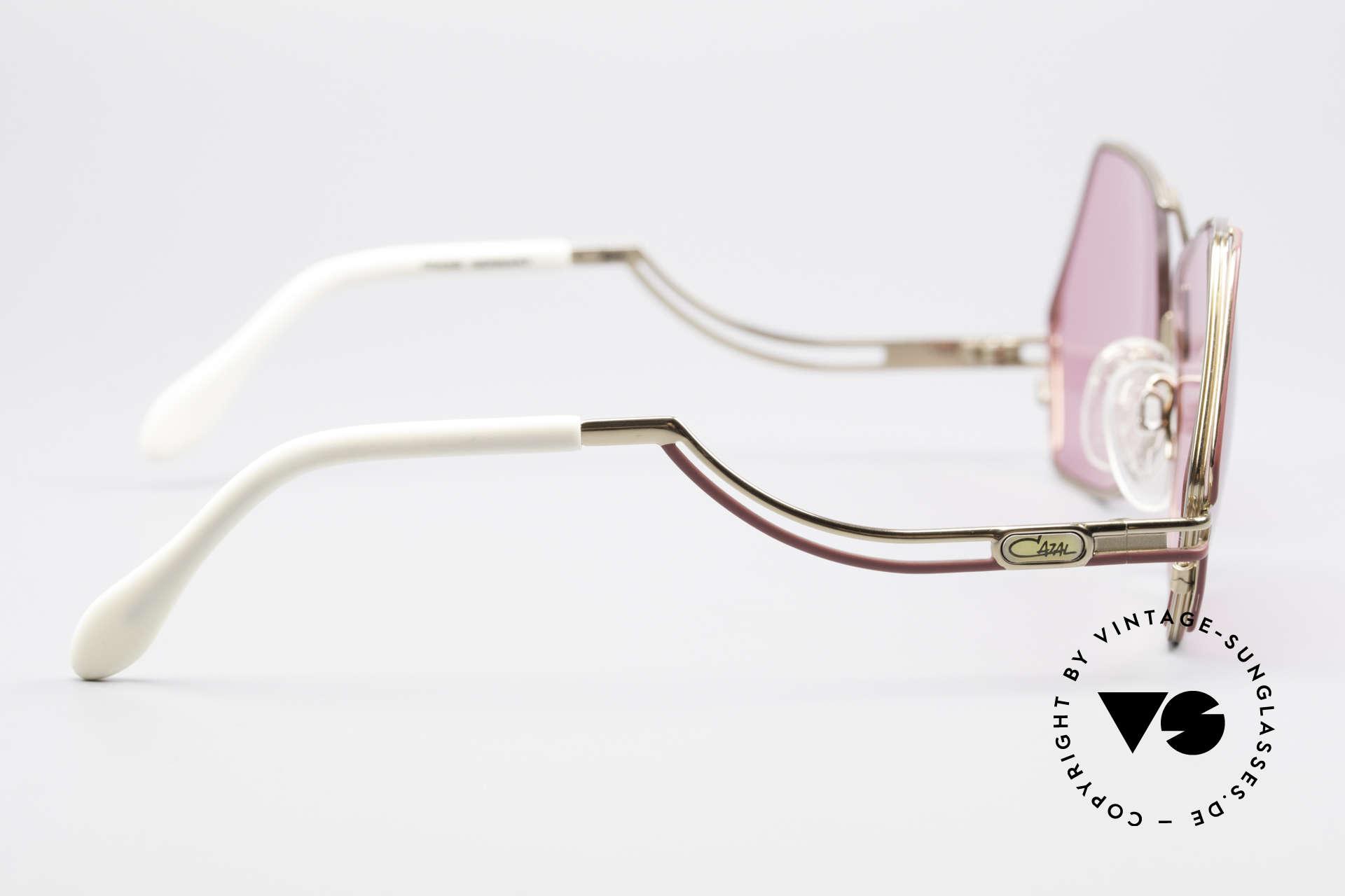 Cazal 226 Pink Vintage Ladies Sunglasses, NO RETRO SUNGLASSES, but a genuine old ORIGINAL!, Made for Women