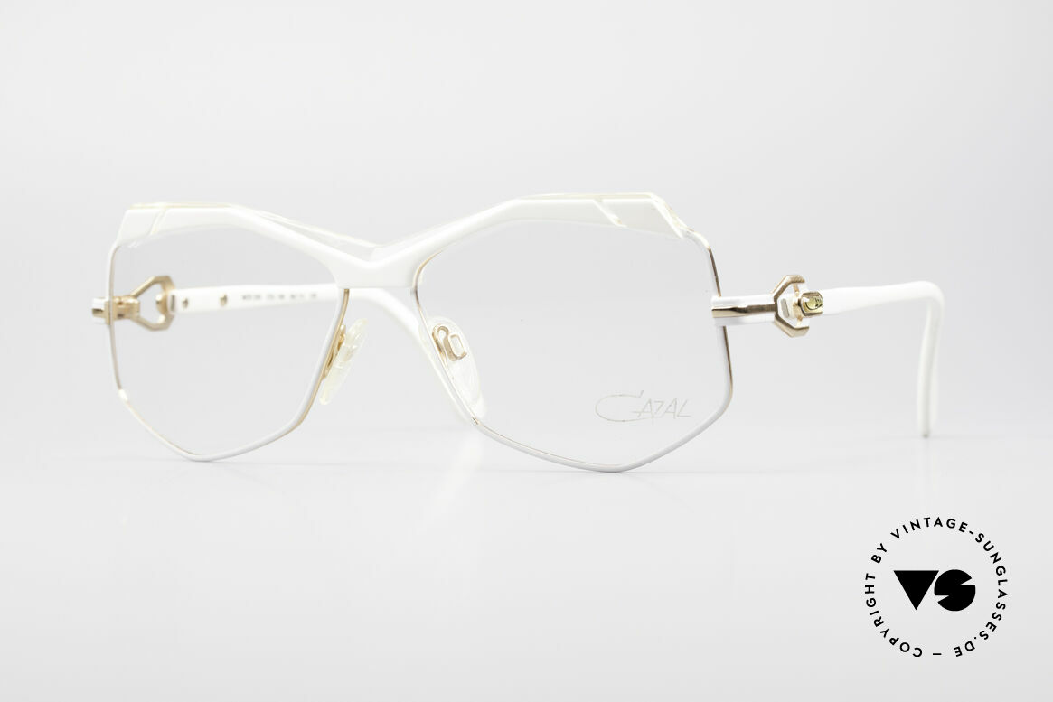 Cazal 230 80's Hip Hop Vintage Frame, crazy CAZAL designer eyeglasses from 1986/87, Made for Women