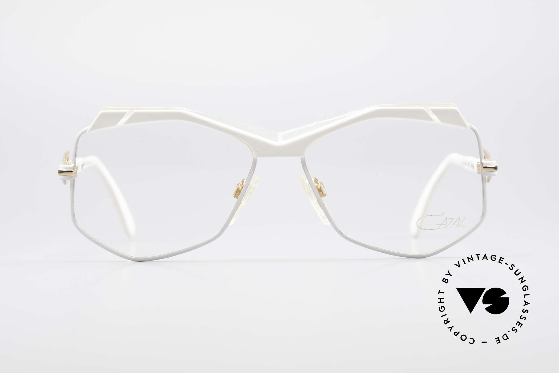 Cazal 230 80's Hip Hop Vintage Frame, extraordinary, hexagonal lenses - true vintage!, Made for Women