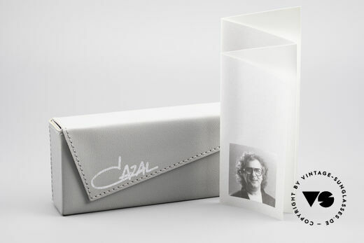 Cazal 645 Extraordinary Vintage Frame, the DEMO lenses can be replaced with prescriptions, Made for Men