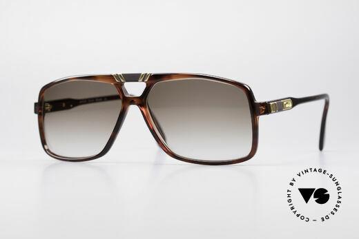 Cazal 637 1980's Hip Hop Sunglasses Details