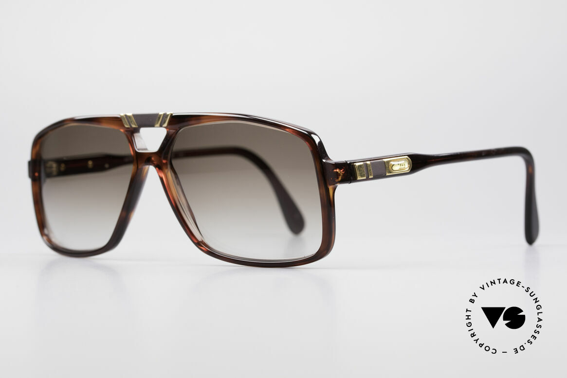 Cazal 637 1980's Hip Hop Sunglasses, part of the legendary US HipHop scene in the 80's, Made for Men