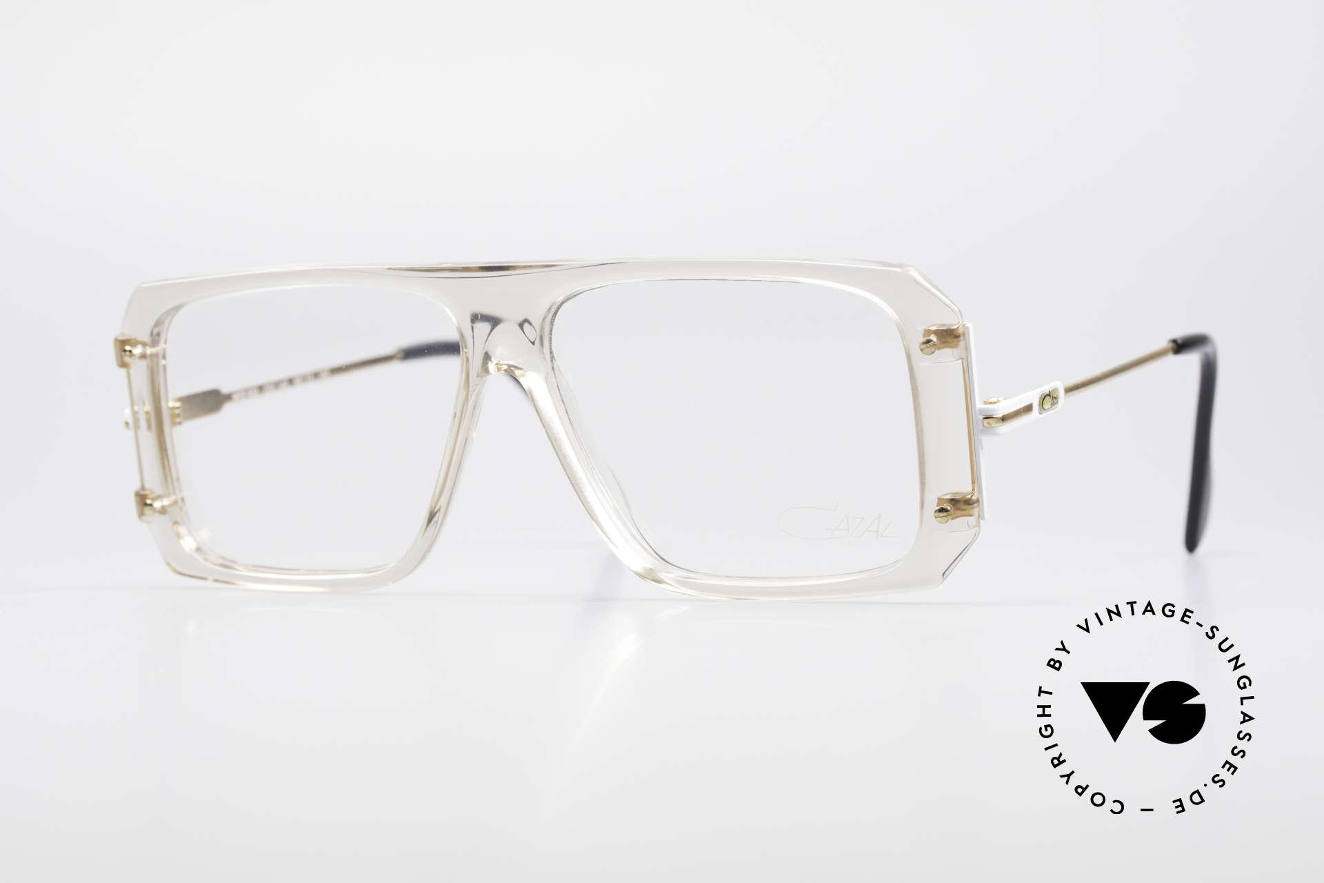 Cazal 633 Vintage Celebrity Eyeglasses, rare vintage CAZAL eyeglasses from 1988; size 58/12, Made for Men
