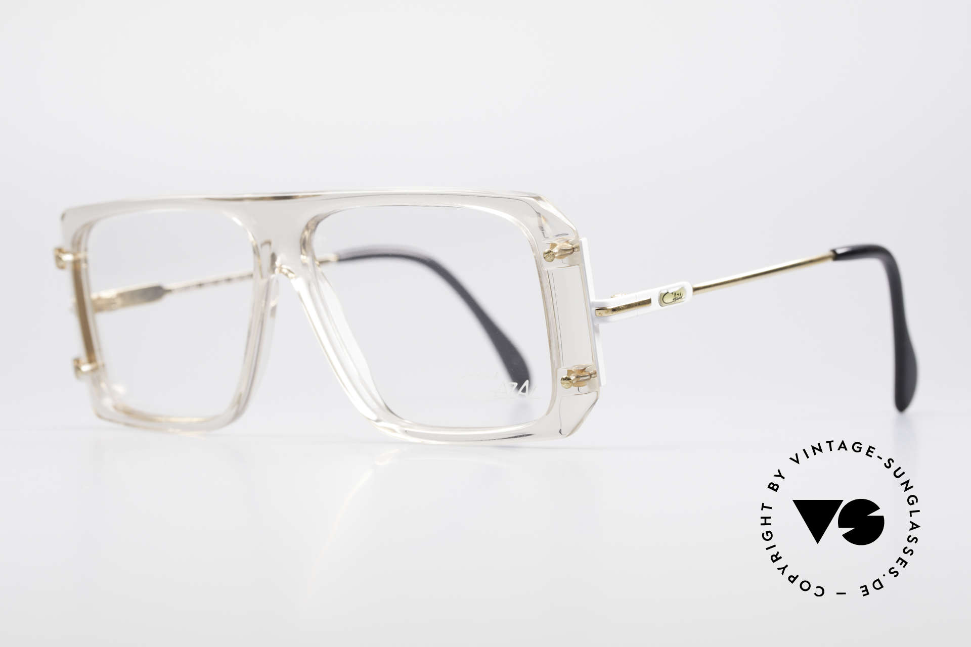 Cazal 633 Vintage Celebrity Eyeglasses, authentic Hip-Hop style of the 1980's (true vintage!), Made for Men