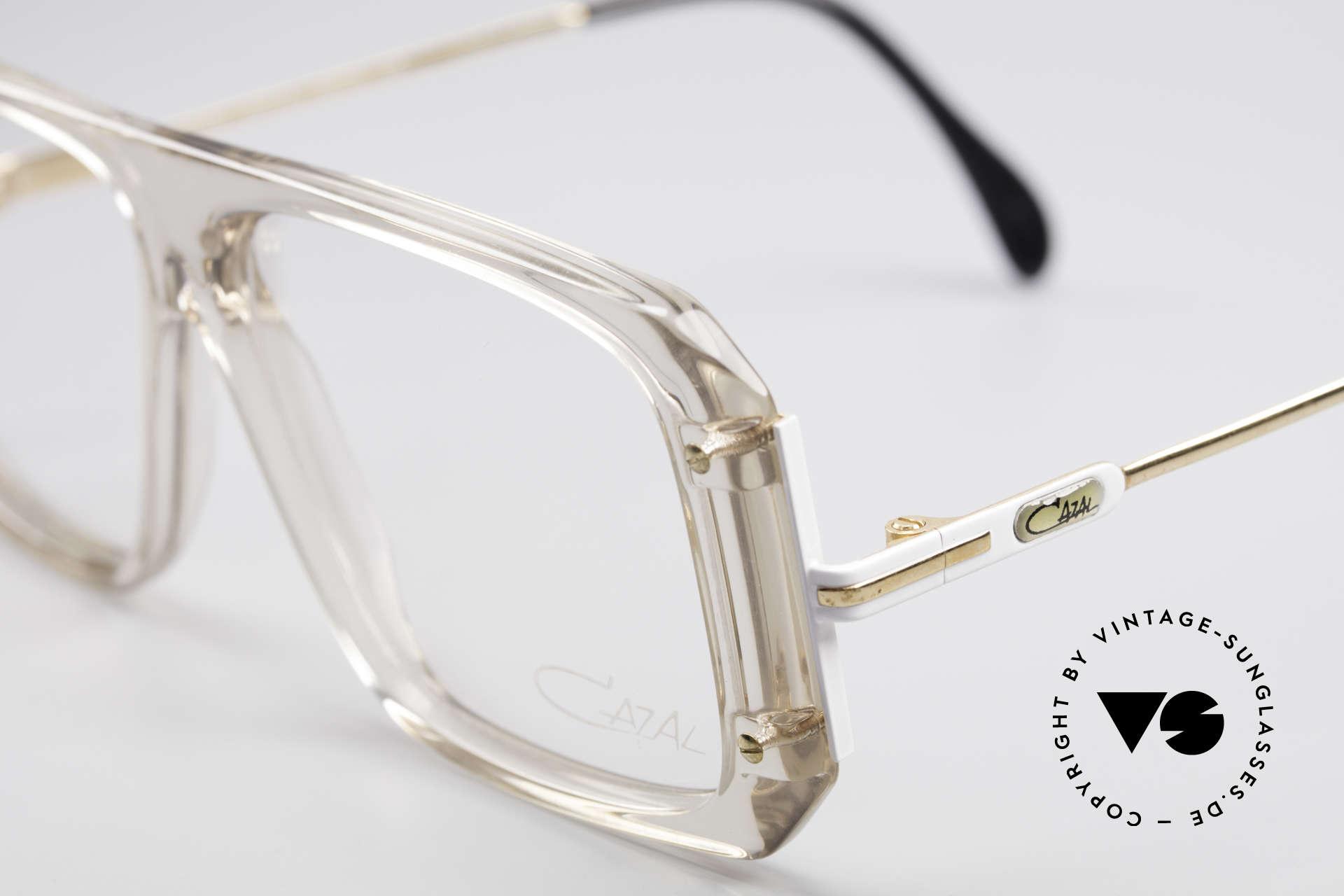 Cazal 633 Vintage Celebrity Eyeglasses, unworn, NOS (like all our rare vintage Cazal eyewear), Made for Men