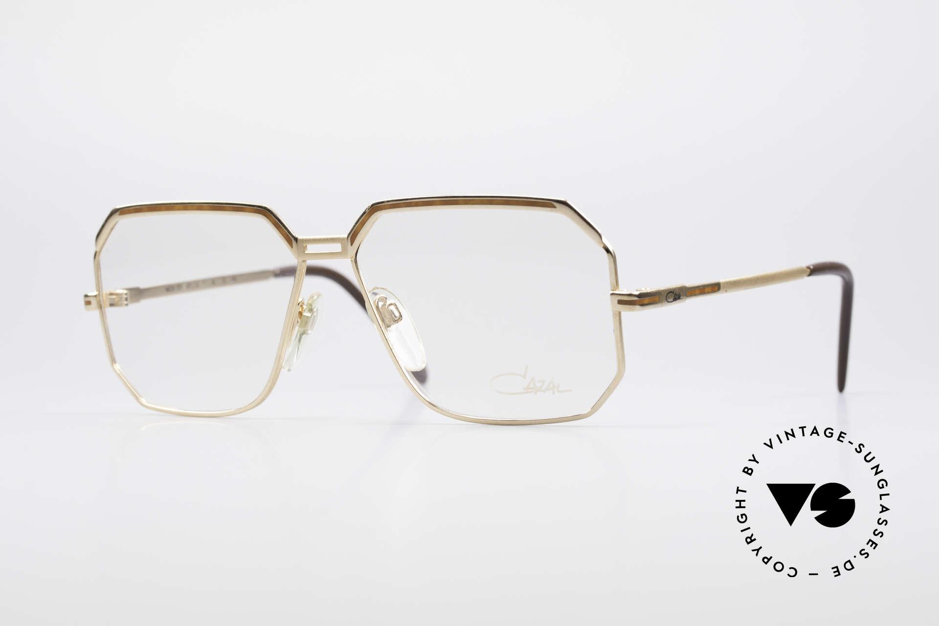 Cazal 727 Michail Gorbatschow Glasses, old classic CAZAL designer frame for men, Made for Men