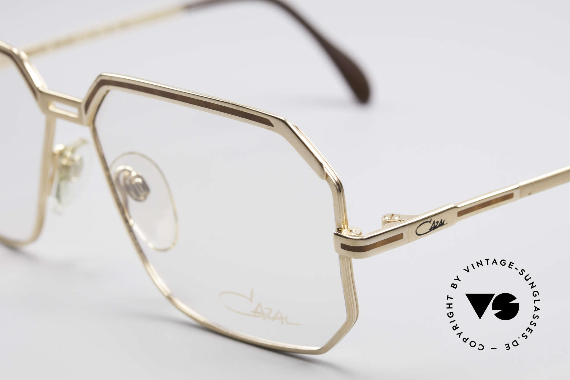 Cazal 727 Michail Gorbatschow Glasses, new old stock (like all our vintage Cazals), Made for Men