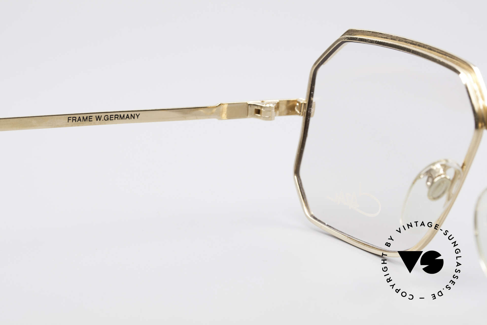 Cazal 727 Michail Gorbatschow Glasses, the demo lenses can be replaced optionally, Made for Men