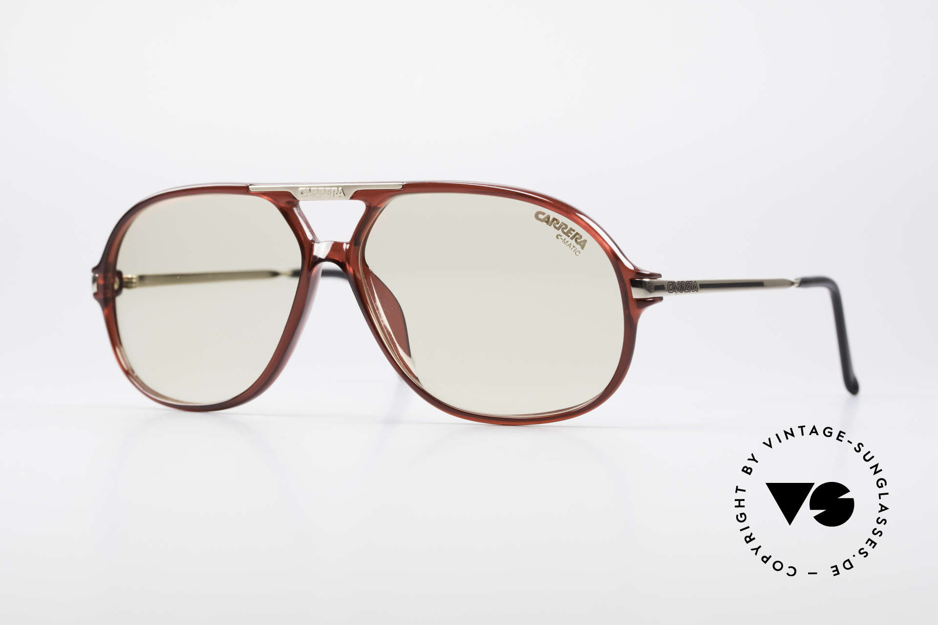 Carrera 5411 C-Matic Extra Changeable Sun Lenses, original Carrera 5411 'Ocean' sunglasses from 1989, Made for Men