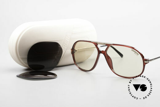 Carrera 5411 C-Matic Extra Changeable Sun Lenses, NO RETRO sunglasses, but a 30 years old ORIGINAL, Made for Men