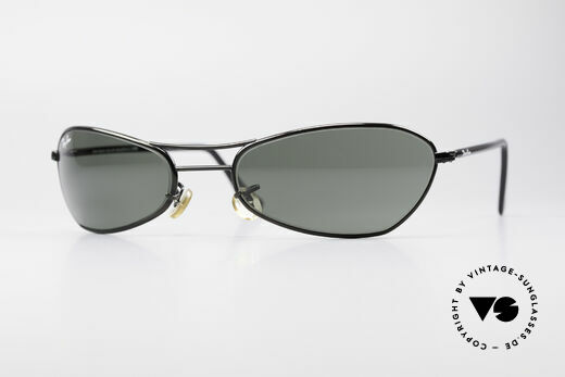Ray Ban Fugitives Metal Modified Oval 90's Bausch & Lomb Shades Details