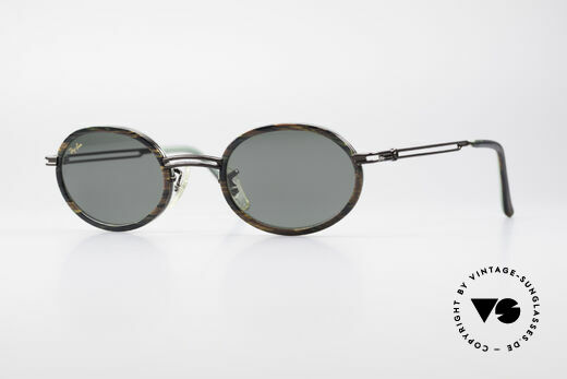 Ray Ban Rituals Combo Oval 90's Ray Ban Sunglasses W3085 Details