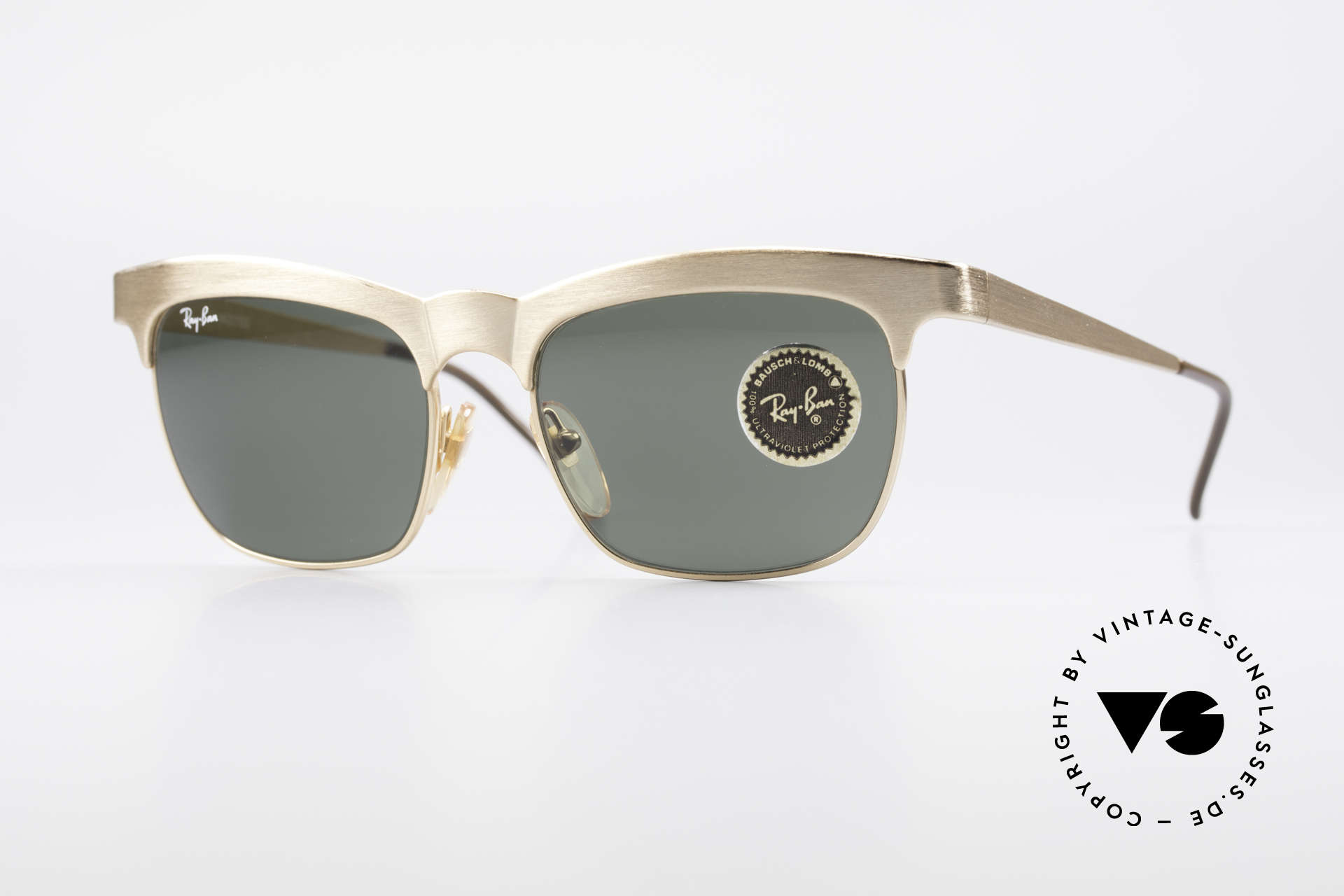 Ray Ban Nuevo 90's B&L Sunglasses W0755, interesting Ray-Ban design of the early 1990's, Made for Men and Women