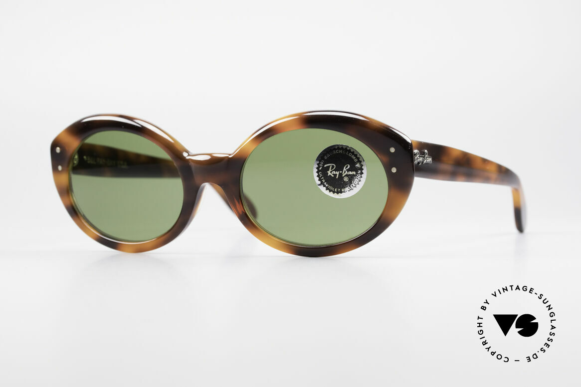 Ray Ban Bewitching Jackie O Ray Ban Sunglasses, glamorous Ray Ban vintage sunglasses of the 80s, Made for Women