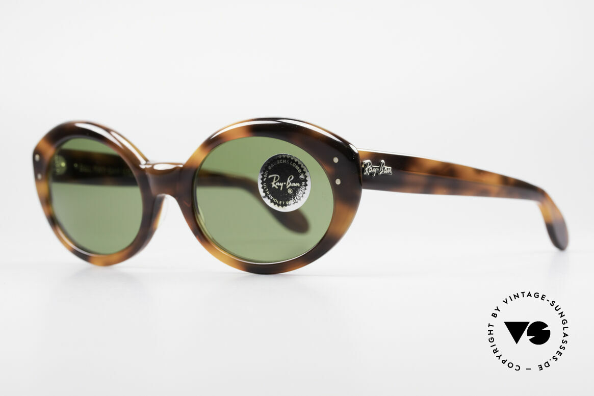 Ray Ban Bewitching Jackie O Ray Ban Sunglasses, RB3 Bausch&Lomb quality-lenses (B&L, 100% UV), Made for Women