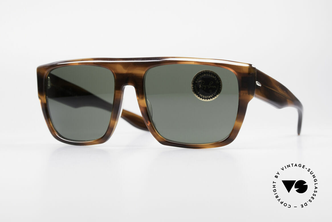 Ray Ban Drifter Old 80's USA B&L Sunglasses, vintage 80's RAY-BAN designer sunglasses, USA, Made for Men