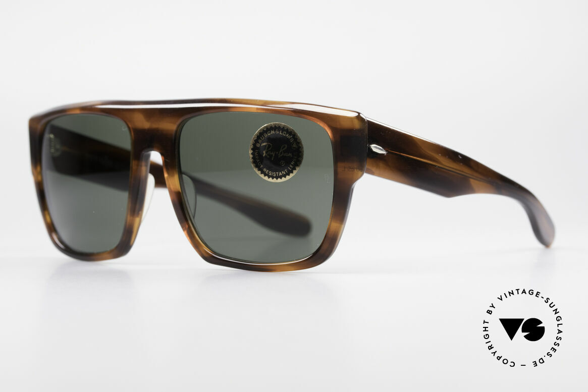 Ray Ban Drifter Old 80's USA B&L Sunglasses, massive frame design (monolithic - built to last), Made for Men