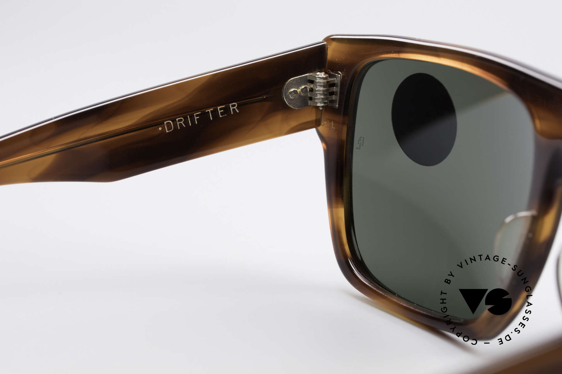 Ray Ban Drifter Old 80's USA B&L Sunglasses, unworn (like all our rare vintage USA Ray-Bans), Made for Men
