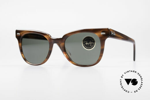 Ray Ban Meteor 80's Vintage USA Sunglasses Details