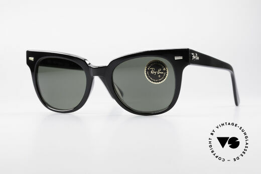 Ray Ban Meteor Old Vintage USA Sunglasses Details
