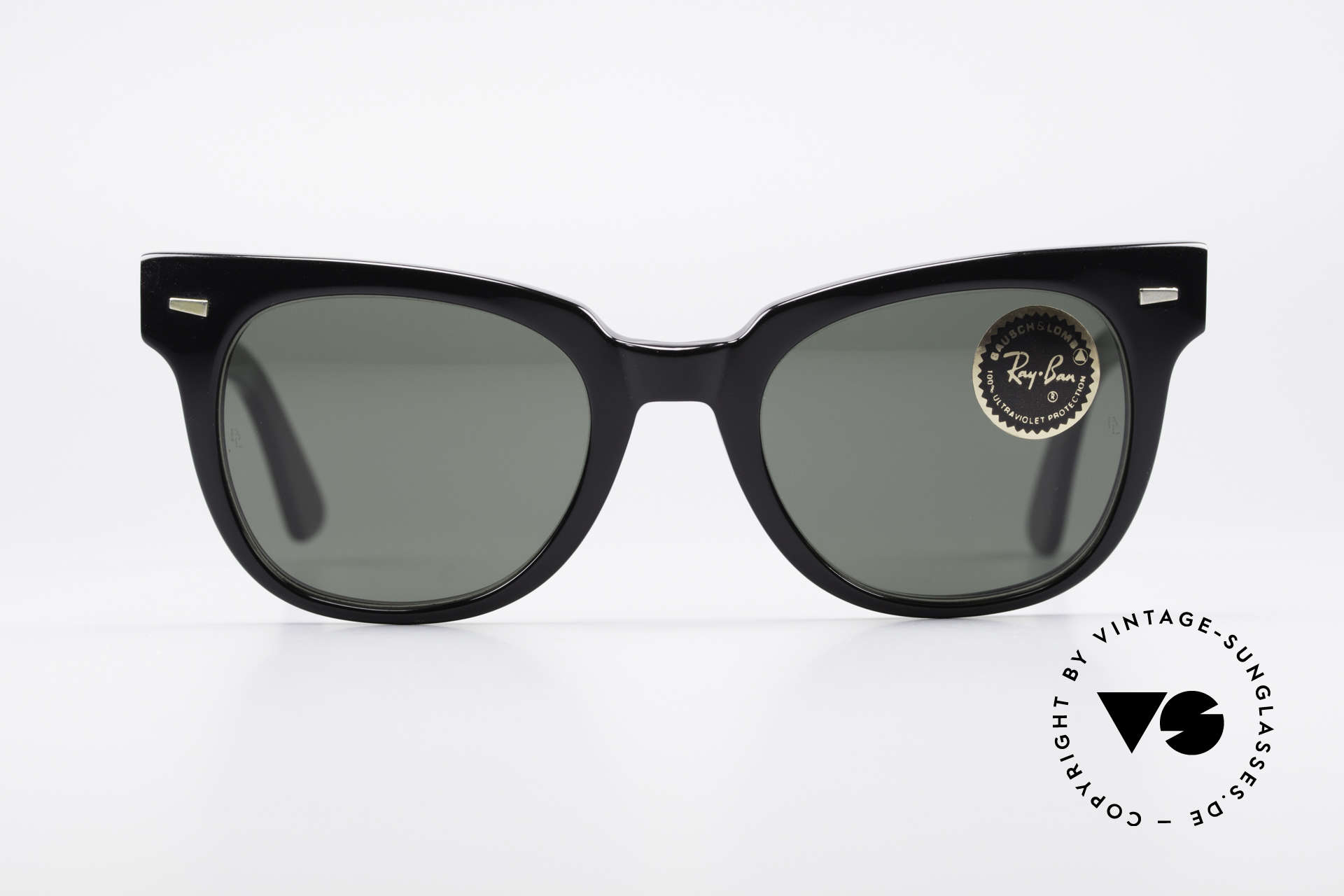 Ray Ban Meteor Old Vintage USA Sunglasses, classic timeless design in best U.S.A. quality, Made for Men and Women