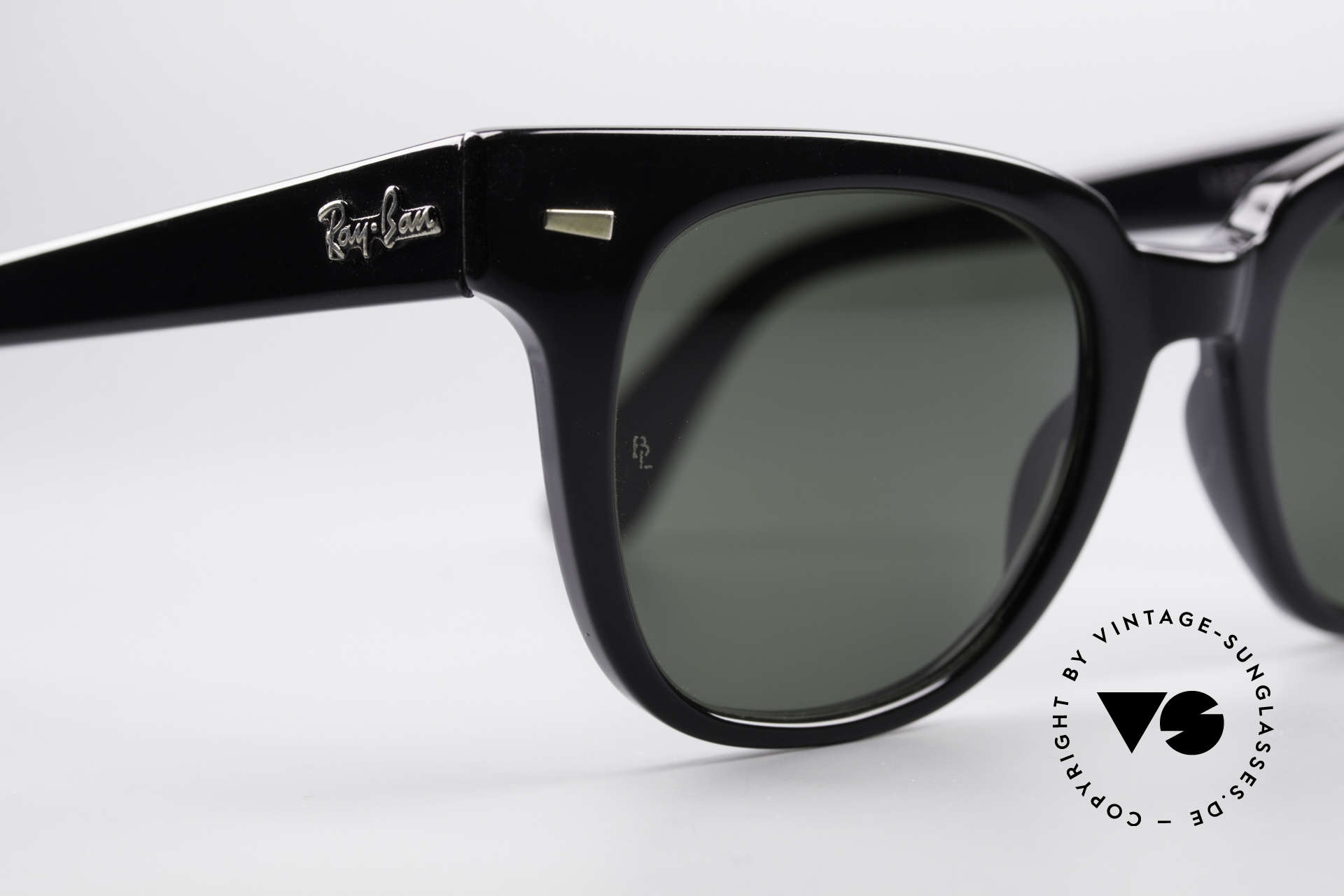 Ray Ban Meteor Old Vintage USA Sunglasses, with legendary B&L mineral lenses, 100% UV, Made for Men and Women