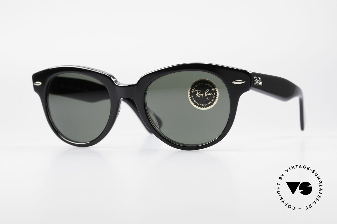 Ray Ban Orion Old Bausch&Lomb USA Frame, massive 1980's sunglasses by RAY-BAN, USA, Made for Men and Women