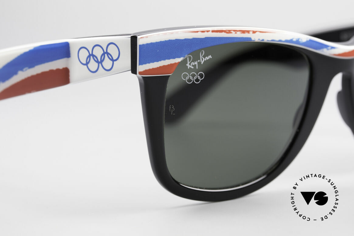 Ray Ban Wayfarer I Olympic Games Albertville, NO RETRO sunglasses, but an authentic USA-original, Made for Men and Women