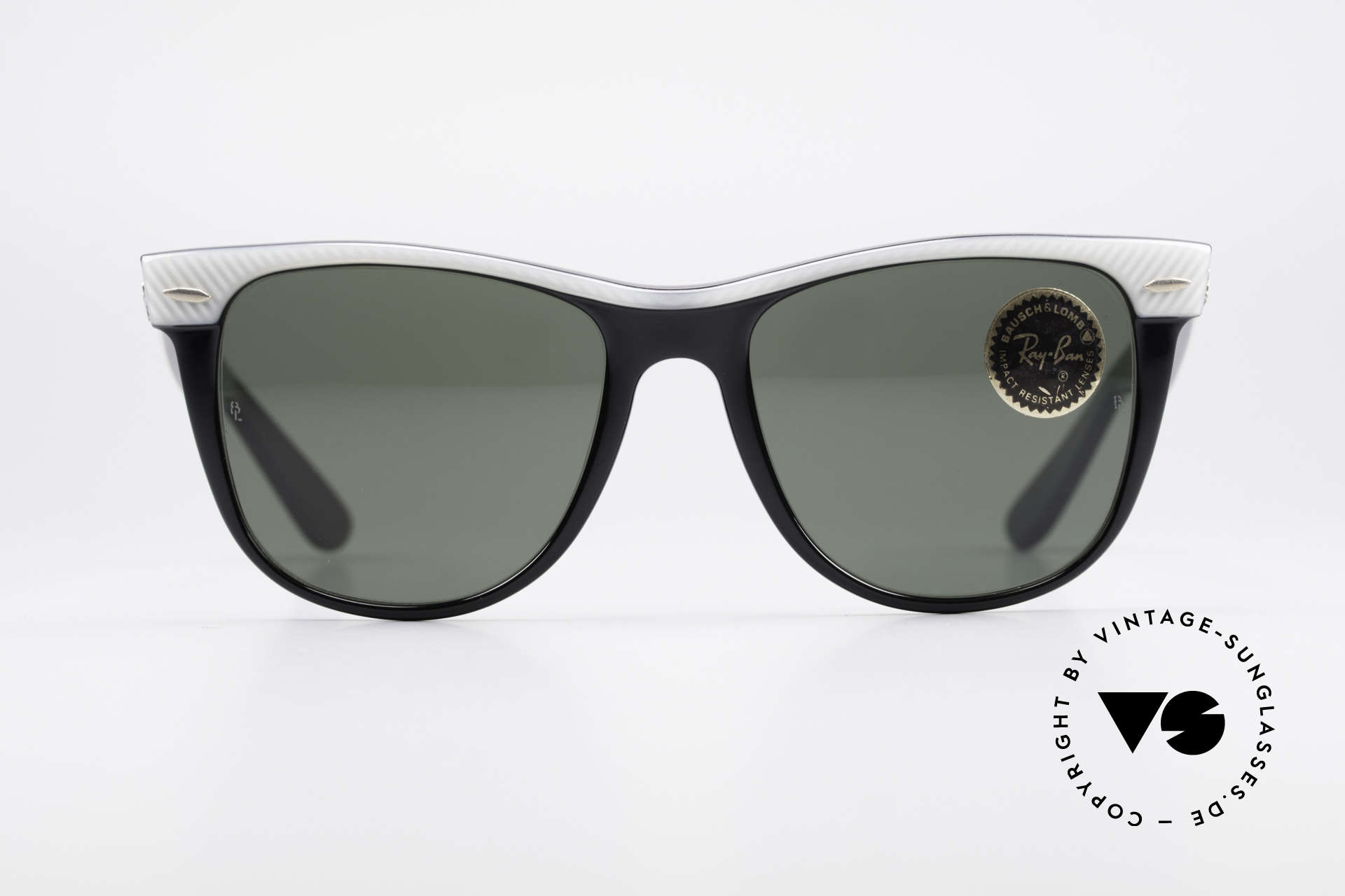 Ray Ban Wayfarer II B&L USA Original Wayfarer, Bausch&Lomb quality lenses (100% UV-protection), Made for Men and Women