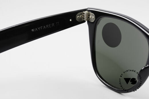 Ray Ban Wayfarer II B&L USA Original Wayfarer, W0496 Fashion White Pearl = original catalog name, Made for Men and Women