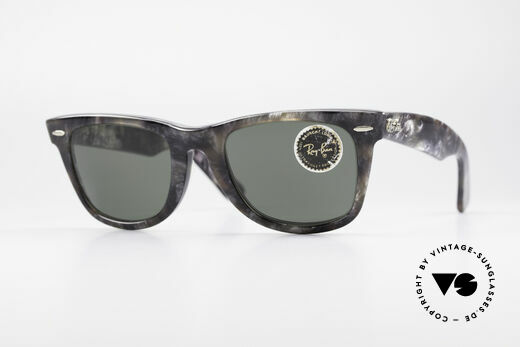 Ray Ban Wayfarer I Limited Edition Gray Frost Details