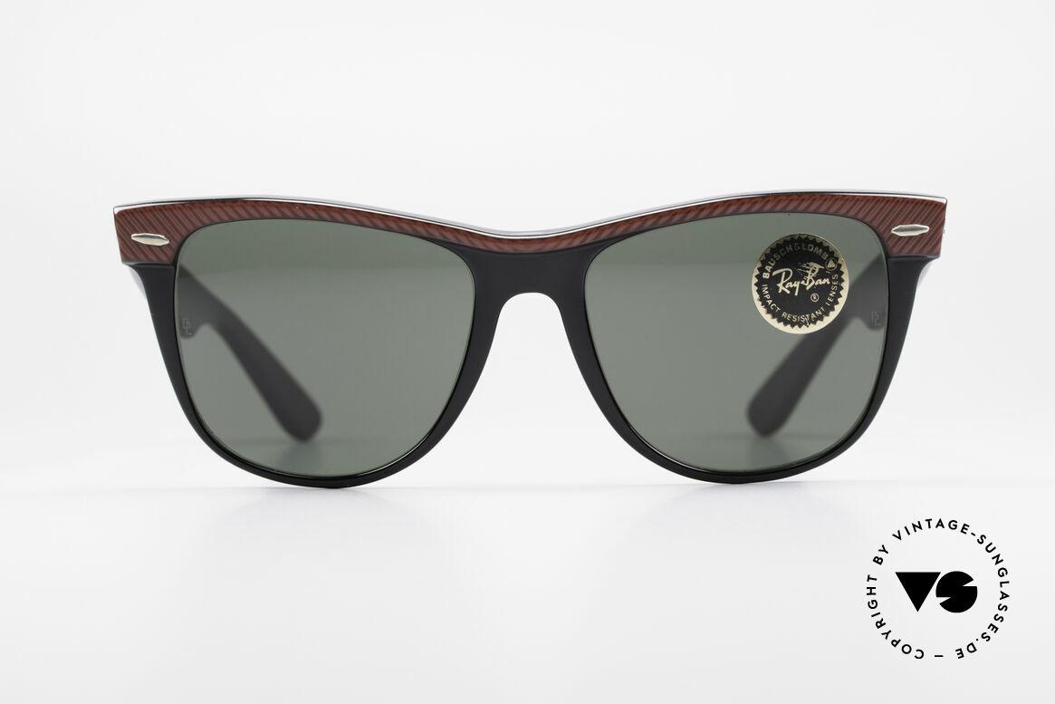 Ray Ban Wayfarer II Original USA Wayfarer B&L, Bausch&Lomb quality lenses (100% UV-protection), Made for Men and Women