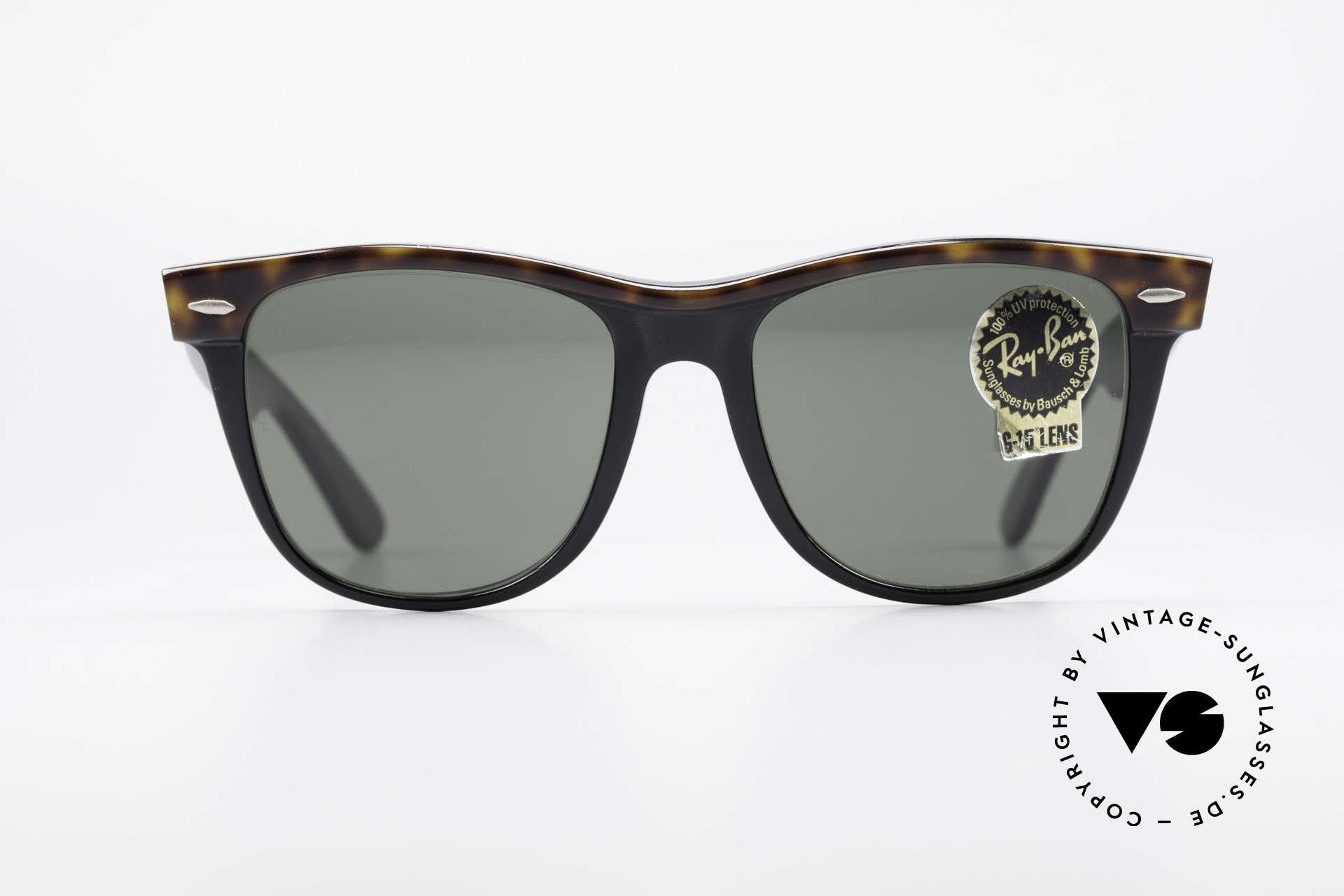 91ba5c0fc Sunglasses Ray Ban Wayfarer II Original 80's Wayfarer USA   Vintage ...