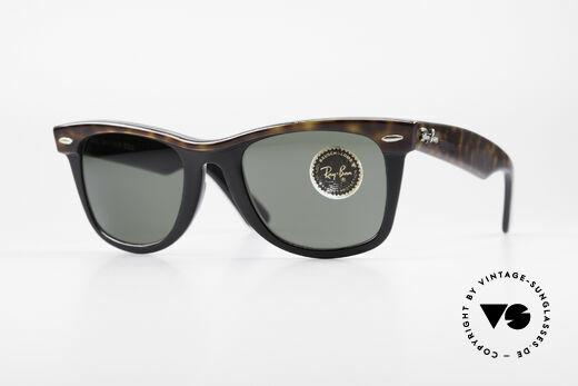 Ray Ban Wayfarer I Old B&L USA 80's Sunglasses Details