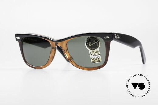 Ray Ban Wayfarer I Bausch&Lomb 80's Sunglasses Details