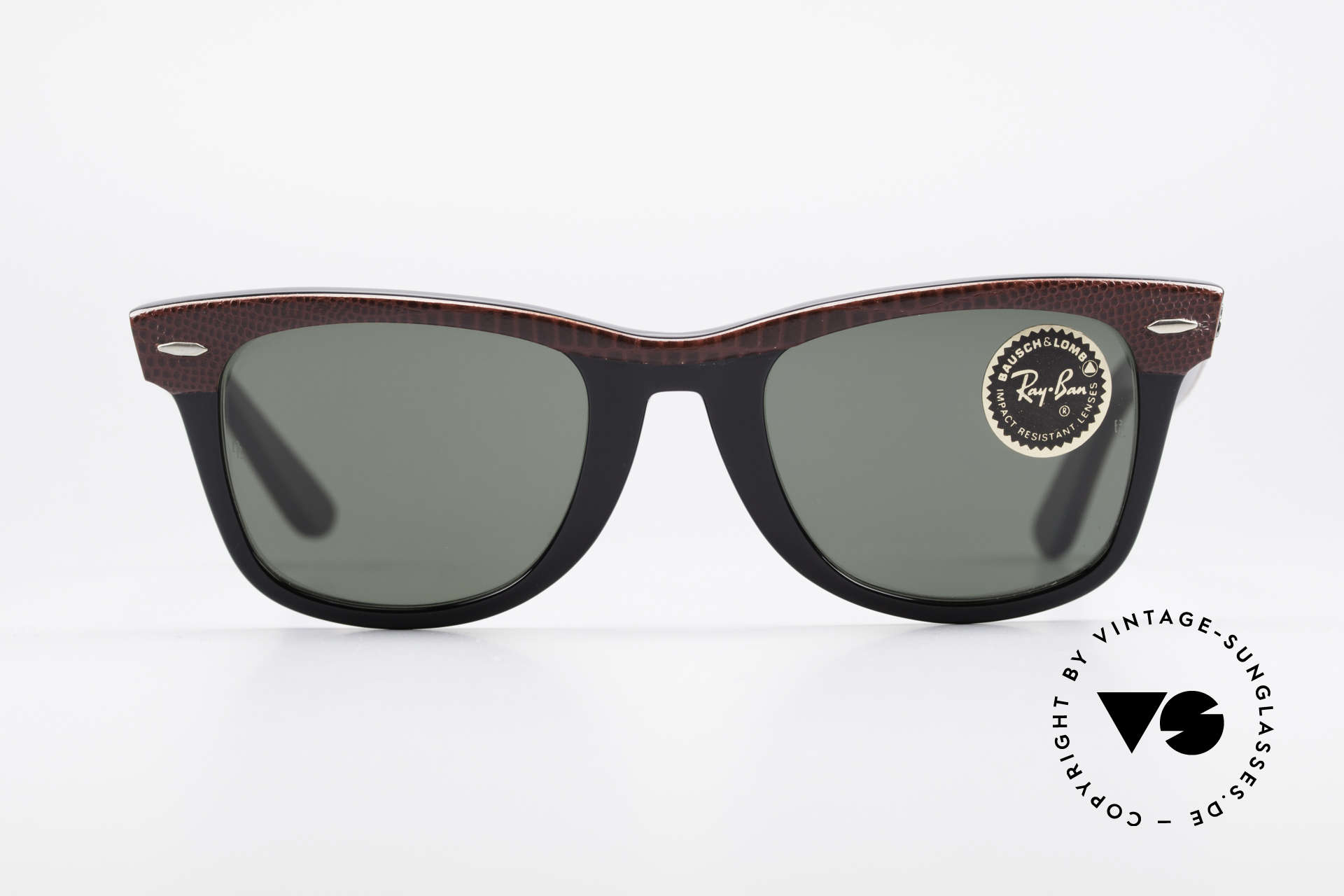 Ray Ban Wayfarer I Limited Leather Sunglasses, ultra rare LIMITED EDITION: Burgundy Leather!, Made for Men and Women