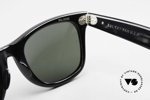Ray Ban Wayfarer I Limited Leather Sunglasses