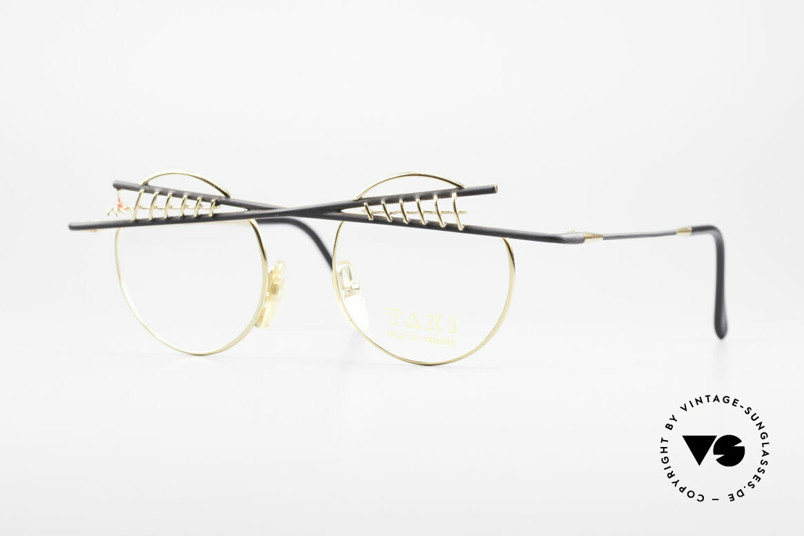 Taxi ST1 by Casanova The Jester Glasses Art Frame, lively TAXI by Casanova eyeglasses from around 1985, Made for Men and Women