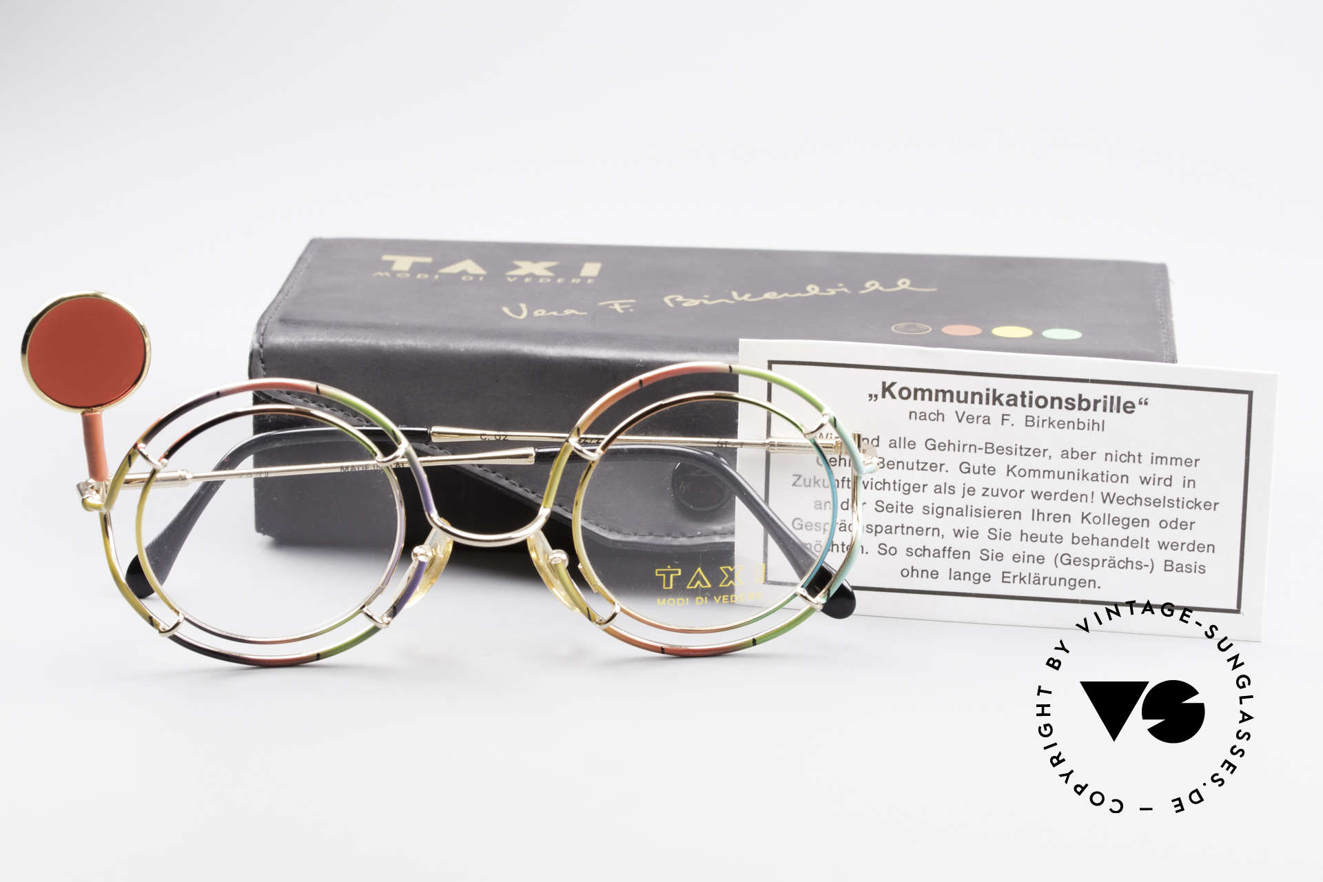 Taxi ST7 by Casanova Birkenbihl Communication Glasses, unworn rarity & full original packing, collector's item, Made for Men and Women