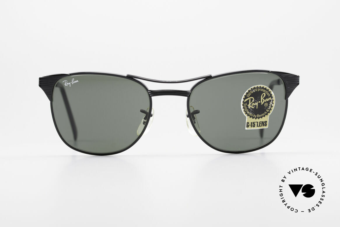 Ray Ban Signet Old USA B&L Ray-Ban Shades, worn by Jack Nicholson in the 80's; size 52°19, Made for Men