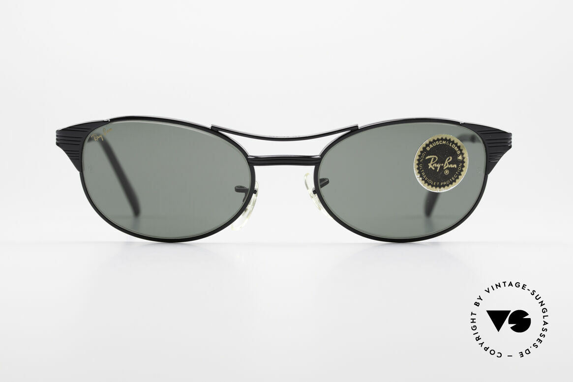 Ray Ban Signet Oval Old B&L USA 80's Sunglasses, Bausch&Lomb G-15 quality lenses (100% UV), Made for Men and Women