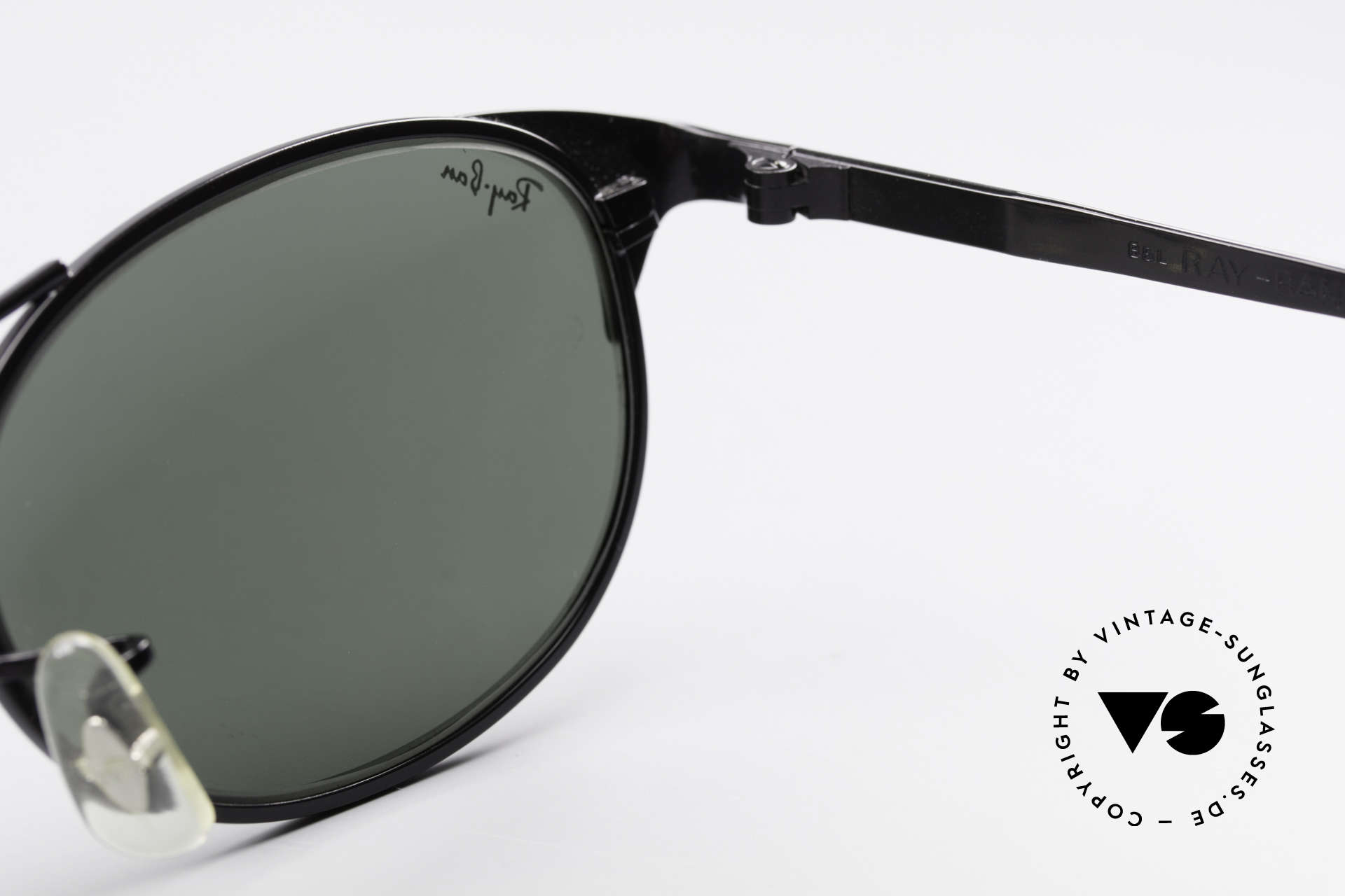 Ray Ban Signet Oval Old B&L USA 80's Sunglasses, NO RETRO, but an authentic old B&L original, Made for Men and Women