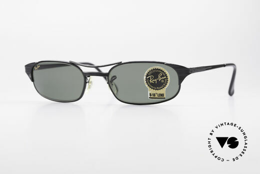 Ray Ban Signet Square Old B&L USA 80's Sunglasses Details